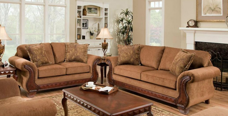 Jefferson Sofa Set - Balvenie Tobacco