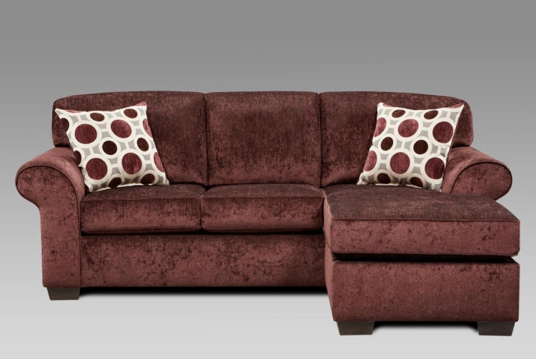 Worcester Queen Sleeper Sofa - Prism Elderberry