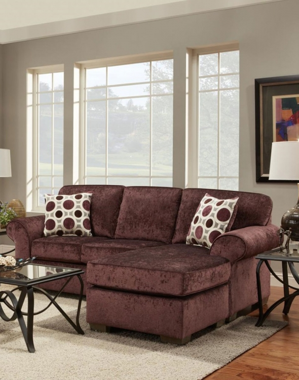 Worcester Sofa Set - Prism Elderberry/Conspiracy Mulberry
