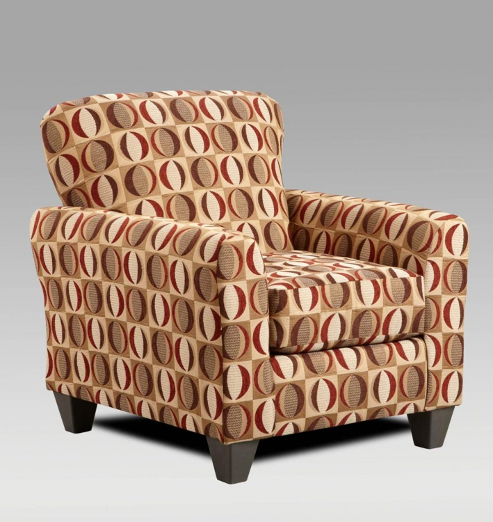 Allegany Accent Chair - Lunar Cinnamon