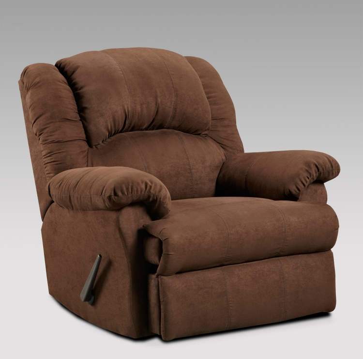 Ambrose Chaise Rocker Recliner - Aruba Chocolate