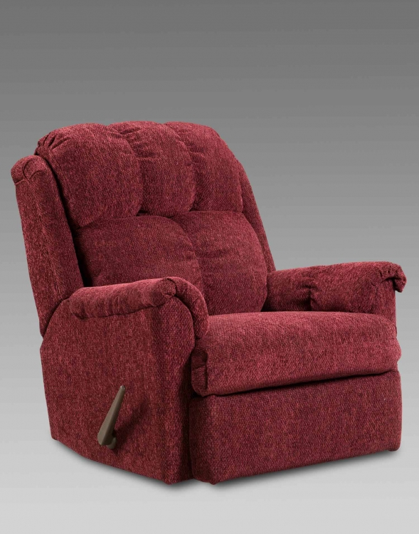 Rocker Recliner - Tahoe Wine
