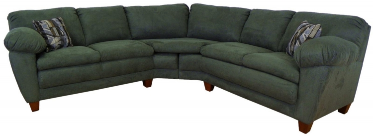 Amanda 2 Piece Sectional Sofa - Bulldozer Graphite