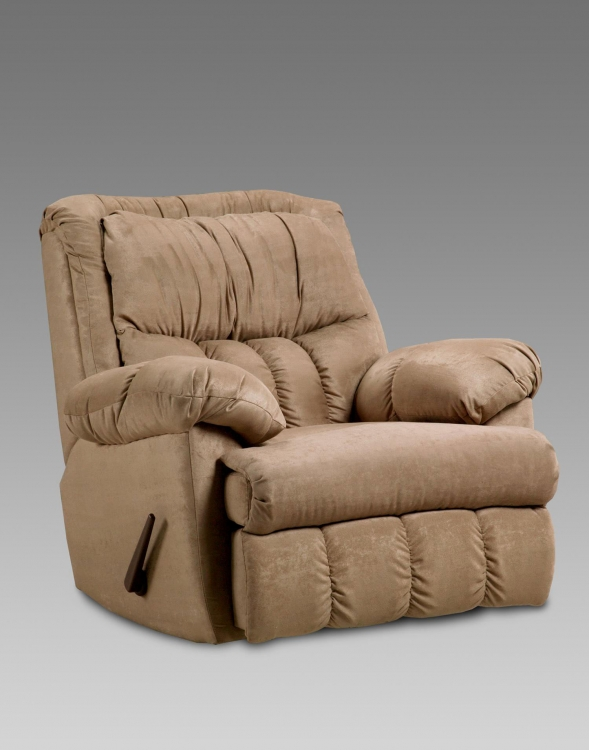 Payton Chaise Rocker Recliner - Sensations Camel