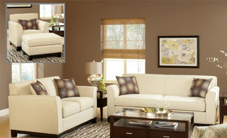 Clark Sofa Set - Dum Dum Natural
