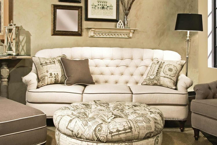 Anastacia Sofa - Lindy Natural