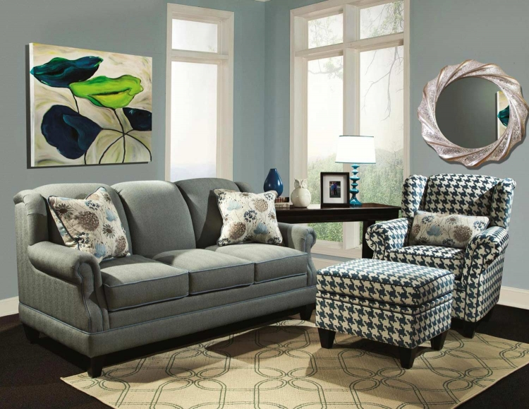Francine Sofa Set - Milan Pool