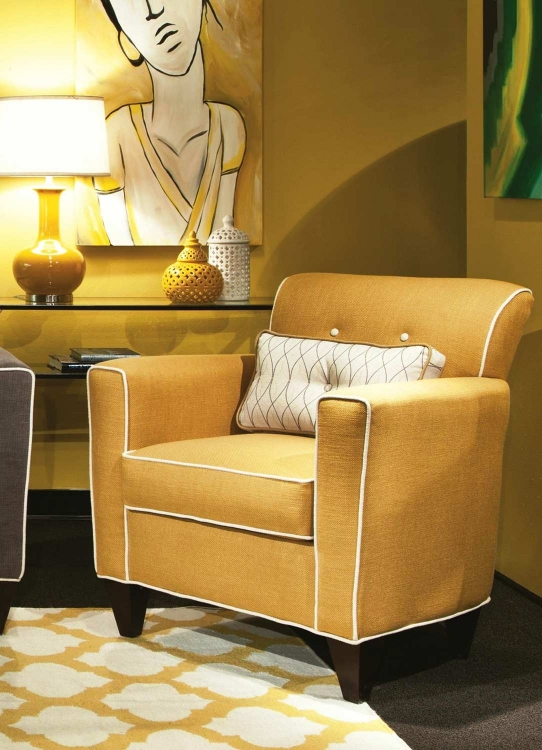 Ally Accent Chair - Lindy Marigold