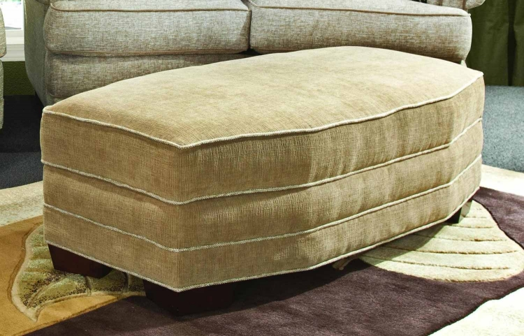 Jumbo Non Storage Ottoman - Heavenly Caf�