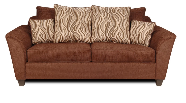 Zoey Sofa - Delray Fudge/Jazzy Earth