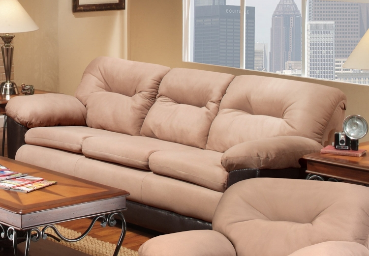 Benning Sofa Set - Brown