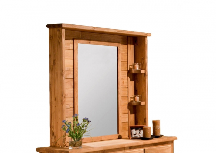 31104 Mirror Hutch - Ginger Stain
