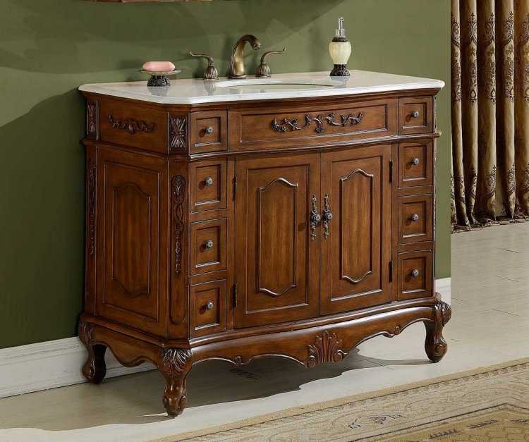 Cambridge 42-inch Vanity - Teak