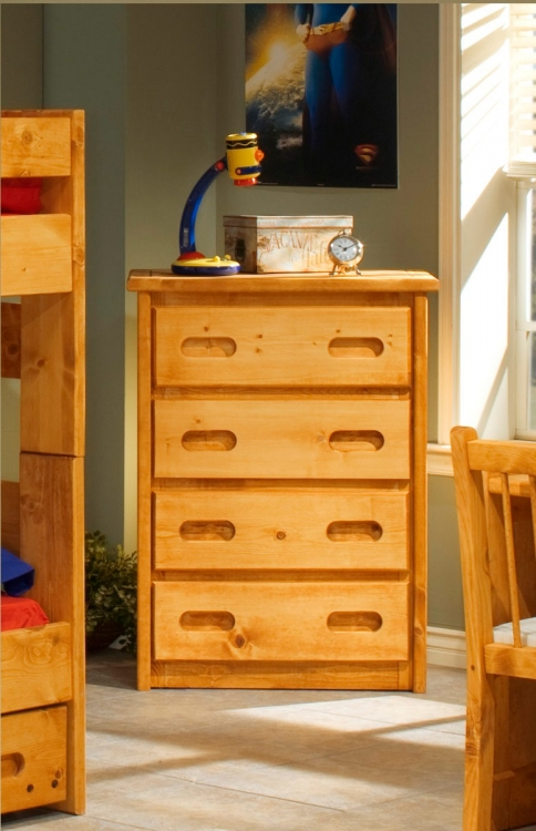 3544770 4 Drawer Chest - Cinnamon