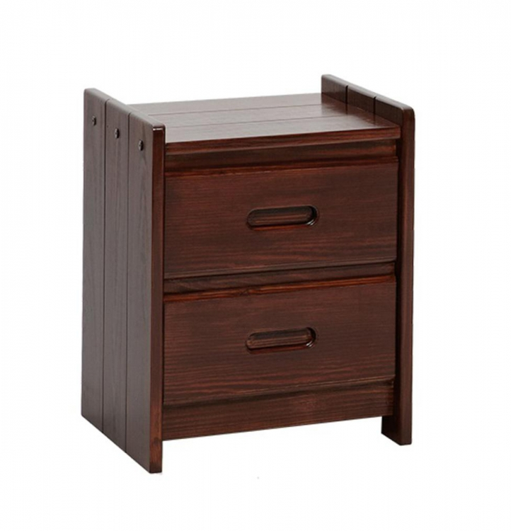 360022-D 2 Drawer Night Stand - Dark