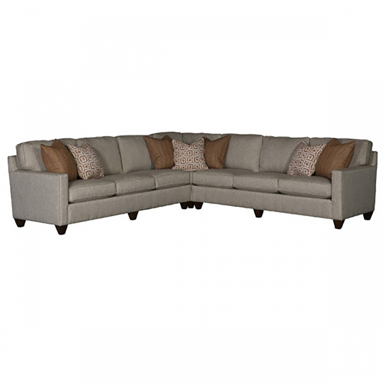 Sutton Sectional Sofa - Raven Stainless