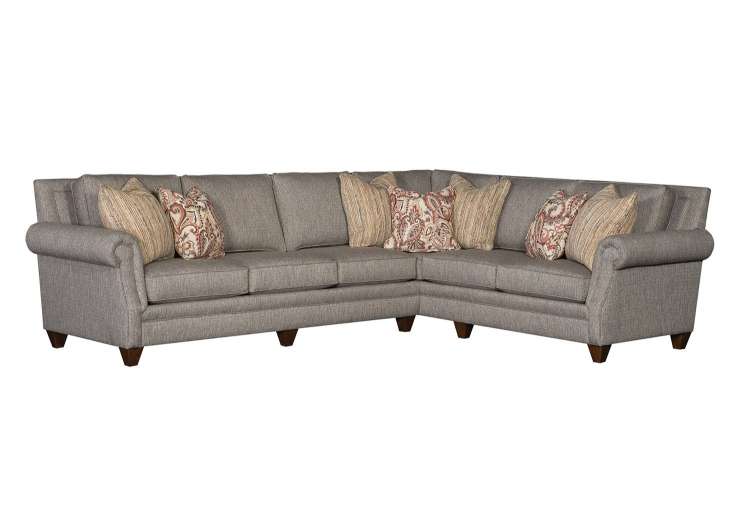 Walpole Sectional Sofa - Grey