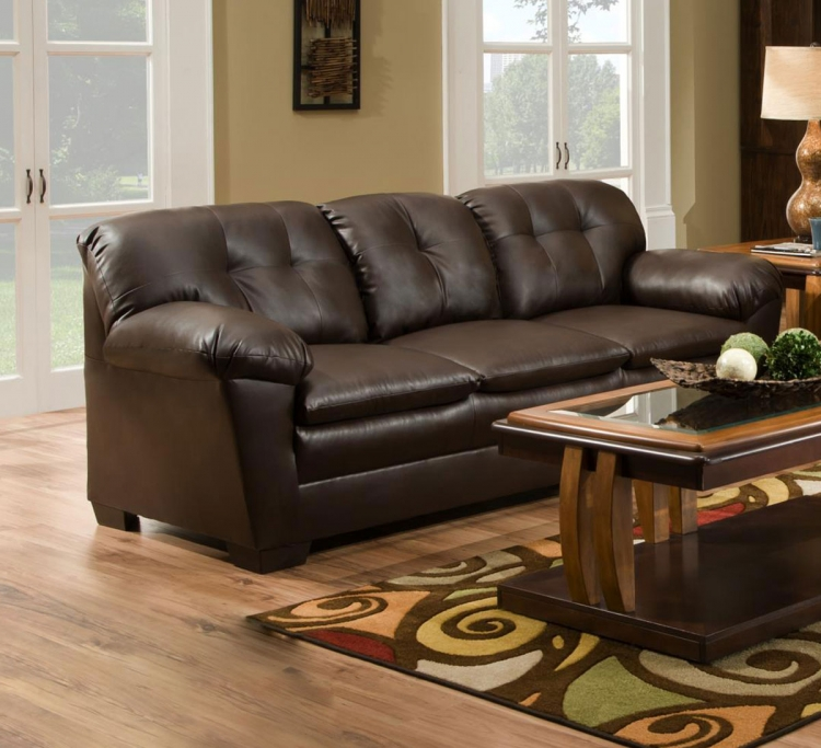Clover Sofa Set - Chocolate