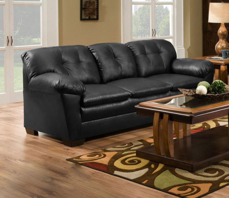 Clover Sofa - Black