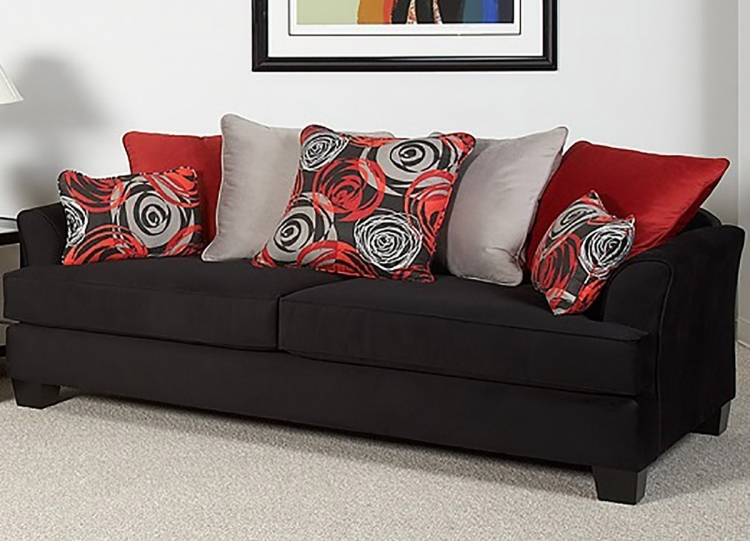 Paxton Sofa Set - Black