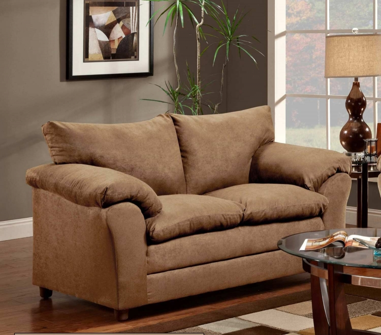 Gail Loveseat - Victory Lane Taupe