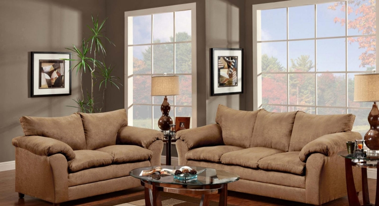 Gail Sofa Set - Victory Lane Taupe