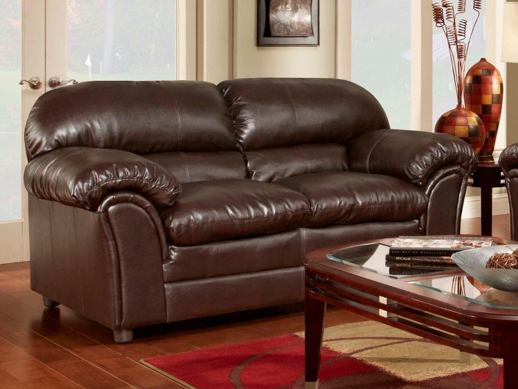 Joyce Loveseat - Ty Chocolate