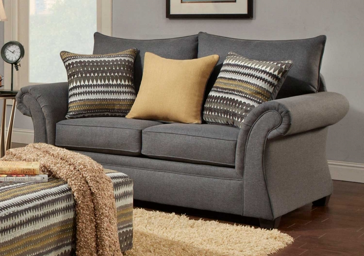 North Andover Loveseat - Gray