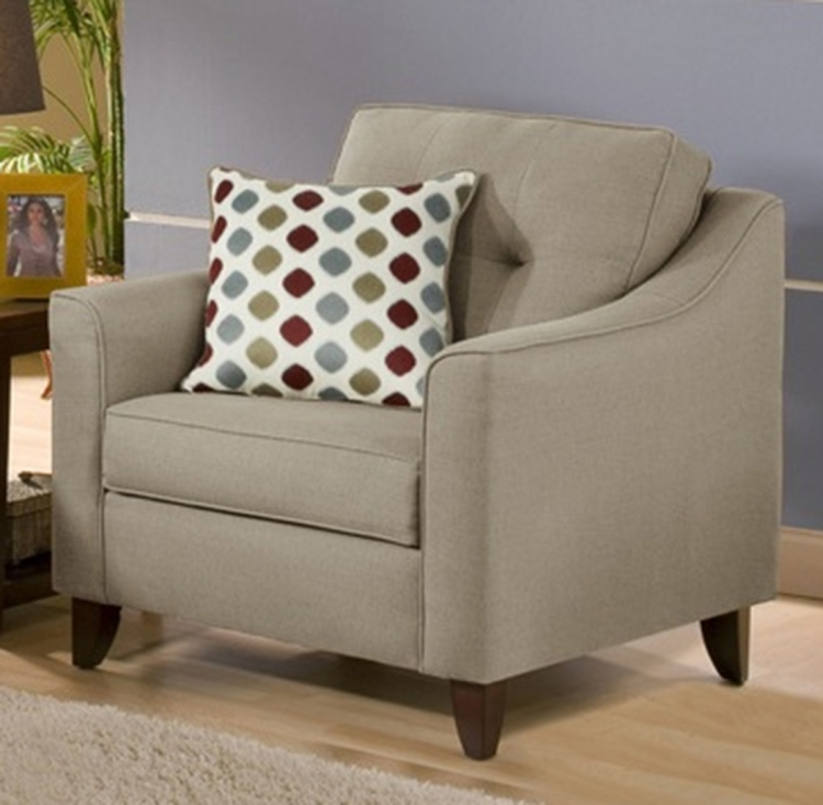 Arabella Accent Chair - Stoked Truffle