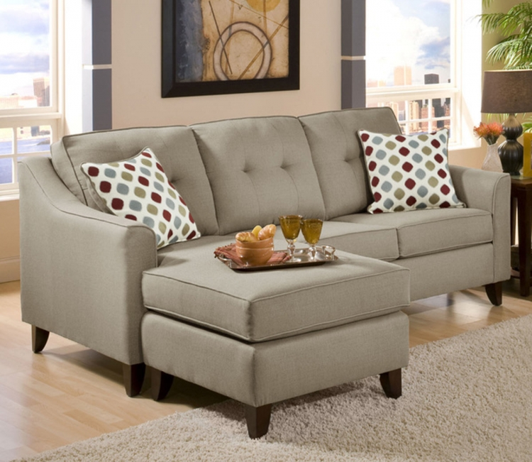 Arabella 2 Pc Sectional Sofa - Stoked Truffle