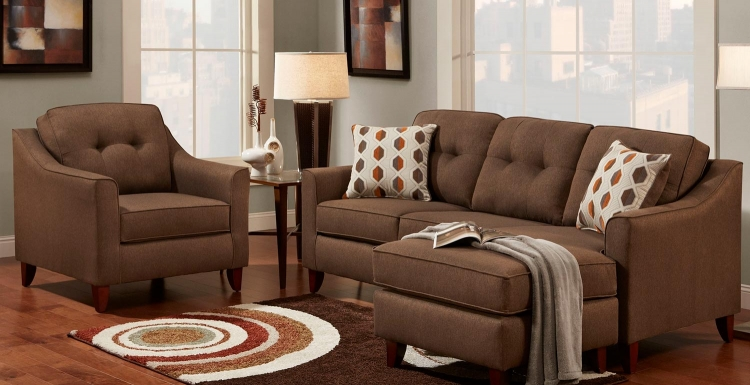 Northbridge Sofa Set - Stoked Chocolate