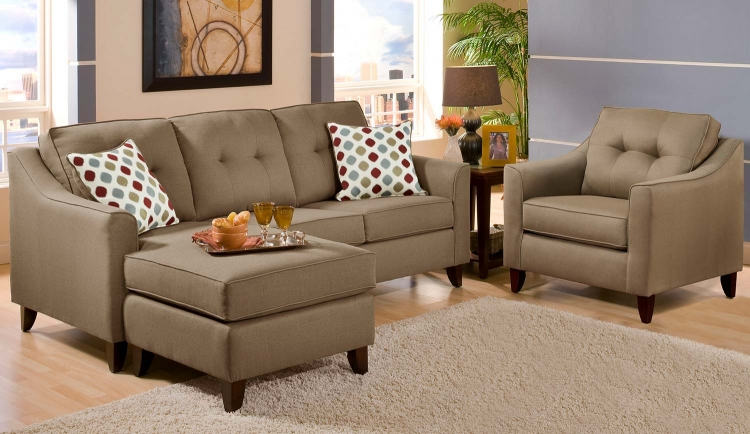 Northfield Sofa Set - Beige