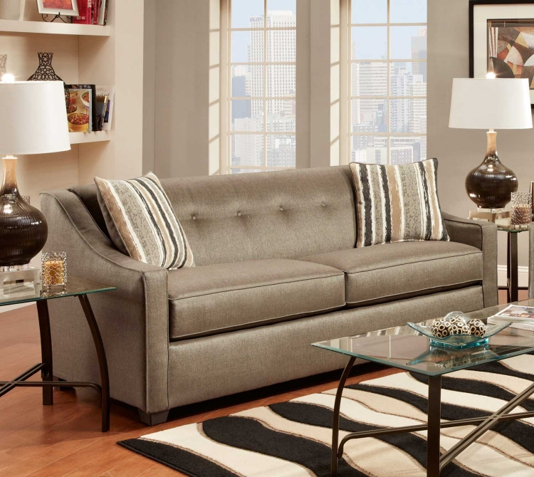 Brittany Sofa - Stoked Pewter