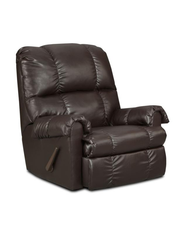 Grace Handle Rocker Recliner - Apache Chocolate