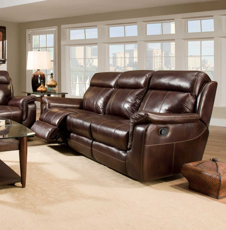 Sequoia Reclining Sofa - Lowey Tobacco