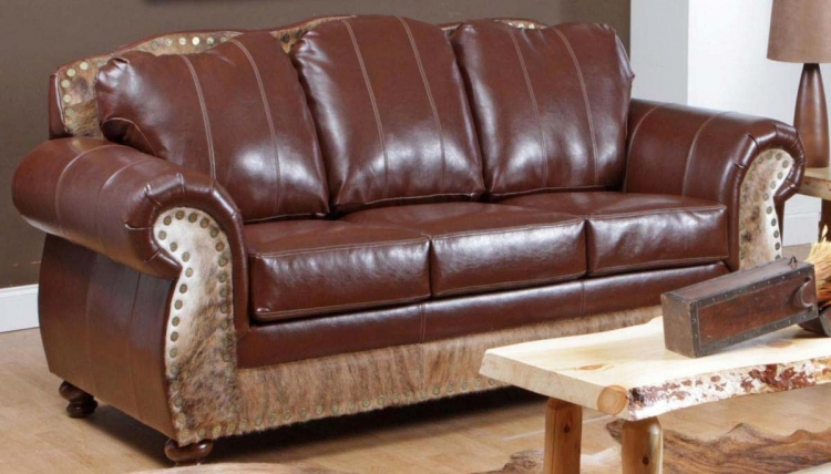 Saddle Me Up Sofa - Top Grain Leather - Chelsea