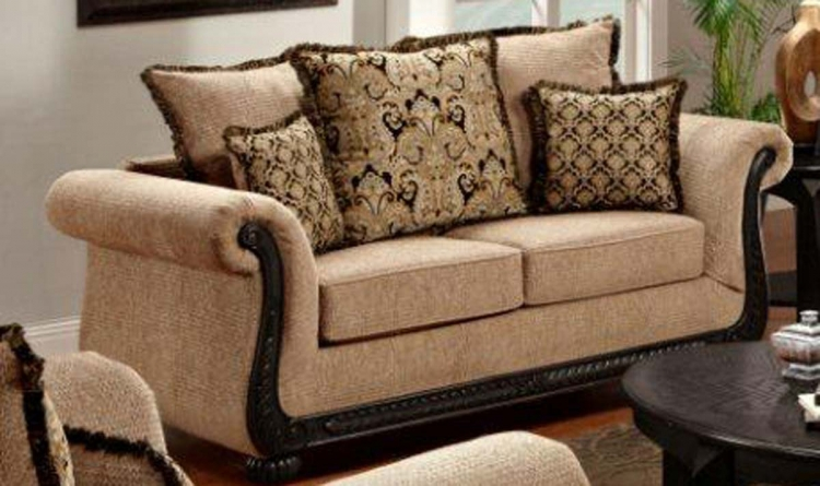 Lily Loveseat - Delray Taupe - Chelsea