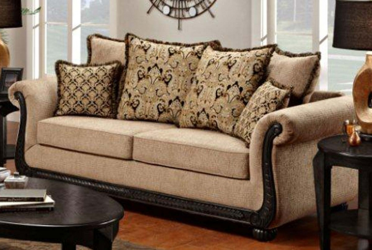 Lily Sofa - Delray Taupe - Chelsea