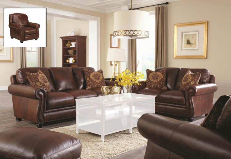 San Angelo Sofa Set - Bolero Cohiba