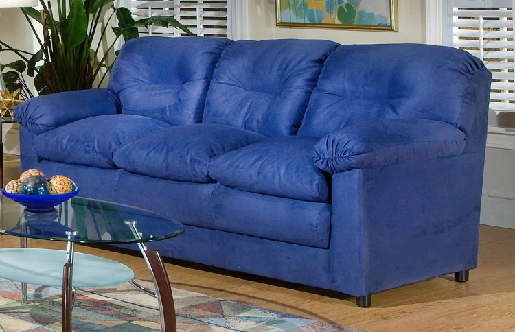 Lisa Sofa - Cobalt Blue