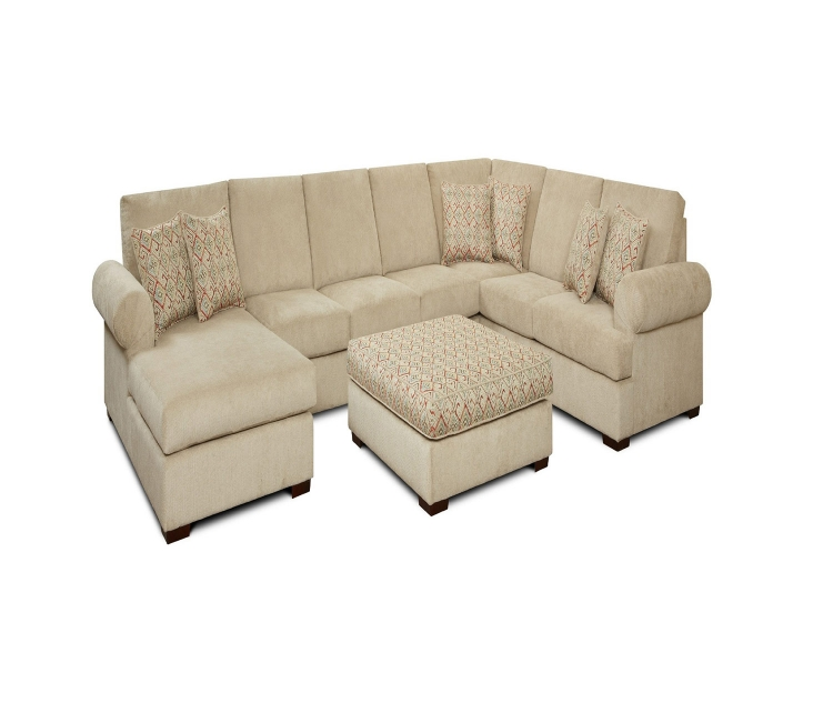 Daveny 3 pcs. Sectional Sofa Set - Beige
