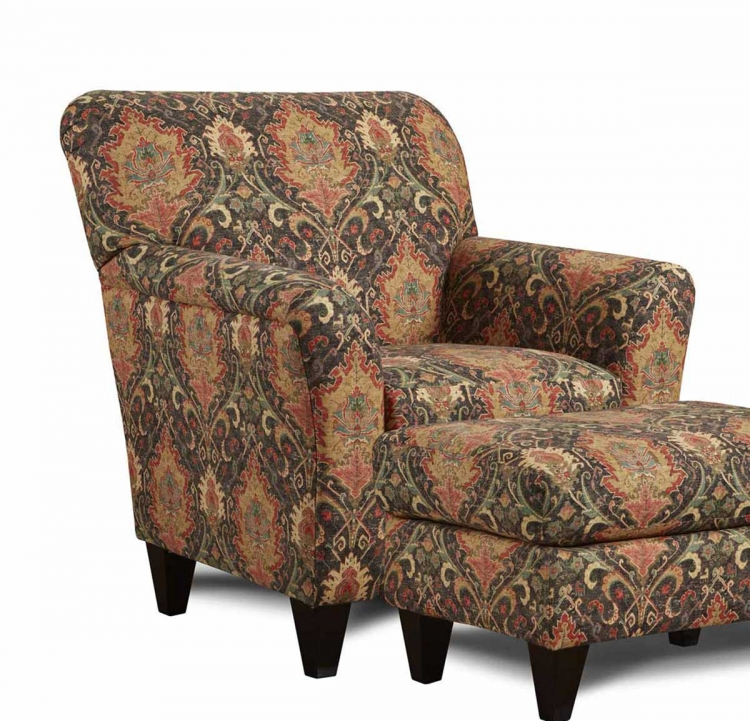 Delaire Accent Chair - Multicolor