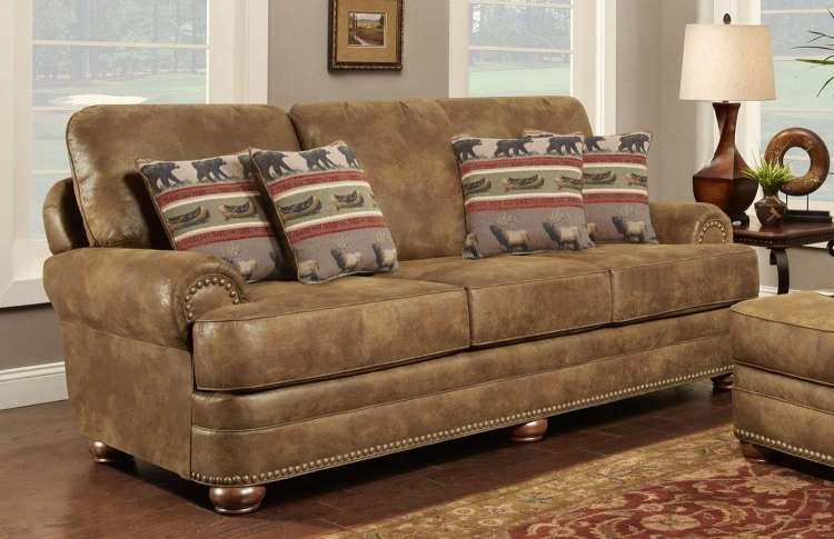 Drew Sofa - Brown