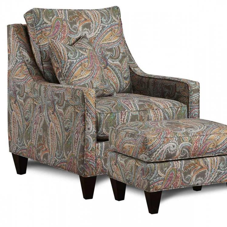 Drury Accent Chair - Multicolor