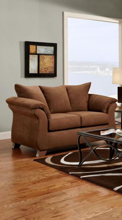 Payton Loveseat - Aruba Chocolate