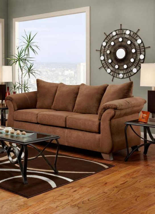 Payton Sofa - Aruba Chocolate
