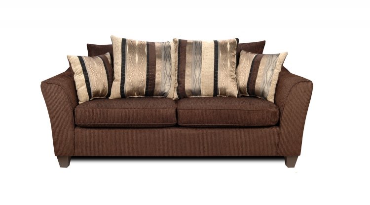 Lizzy Sofa Set - Romance Brown/Kendu Onyx