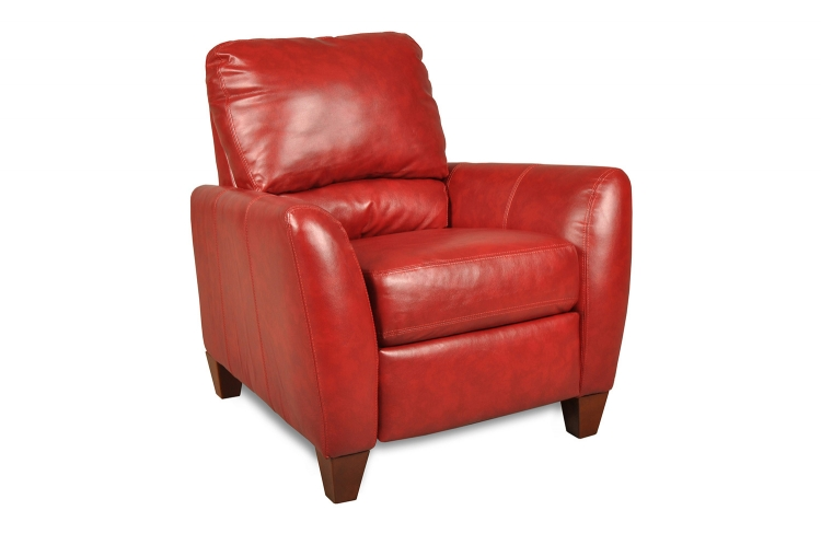 Salem Recliner - Como Bold Red