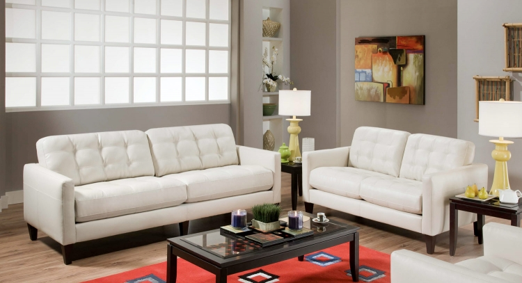 Lexington Sofa Set - Milano Ice