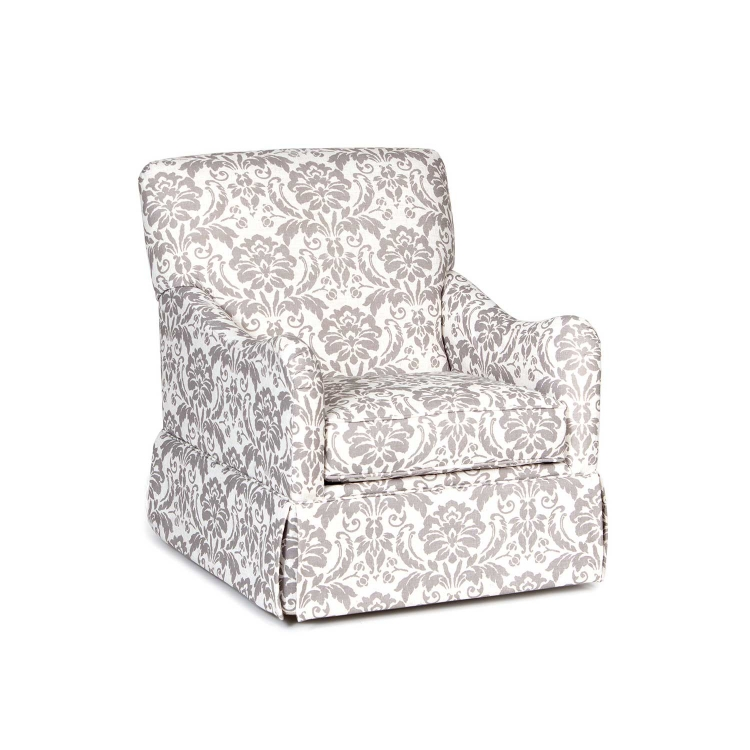 Jamie Swivel Accent Chair - Linen